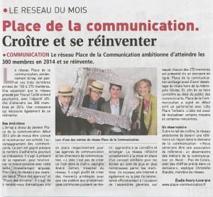 Journal des entreprises, avril 2014