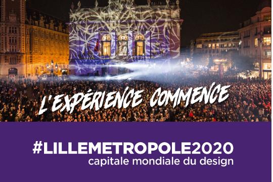 17 avril – Lille Métropole, Capitale Mondiale du Design 2020  !