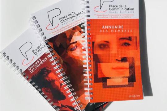 Sortie de l'annuaire 2018-2019 de Place de la Communication