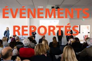 evenements reportes place de la communication
