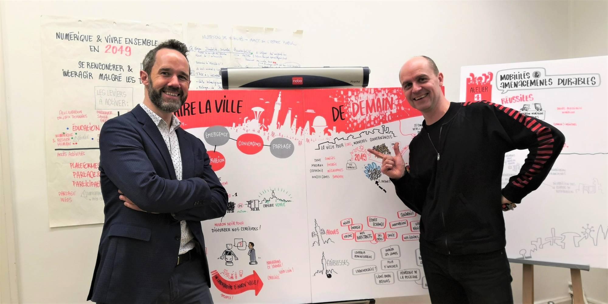 Olivier Sampson et Arnaud Delanoy 2